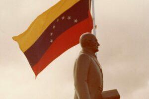 1976 11 de diciembre. Inauguración estatua de Andrés Bello en Tenerife