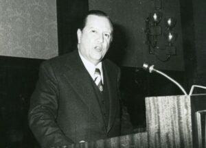 1978 Enero 19. Rafael Caldera en la Asociación de Ejecutivos