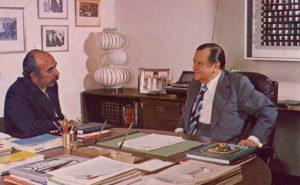 Oscar Yánes y Rafael Caldera