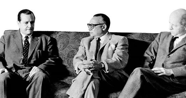 1958. Octubre, 31. Firma del Pacto de Punto Fijo.