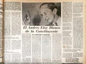 Andrés Eloy Blanco, el amortiguador de la Constituyente