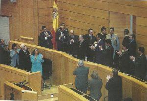 Rafael Caldera en las Cortes Españolas (25sep1996)