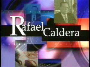 Rafael Caldera - Pantalla