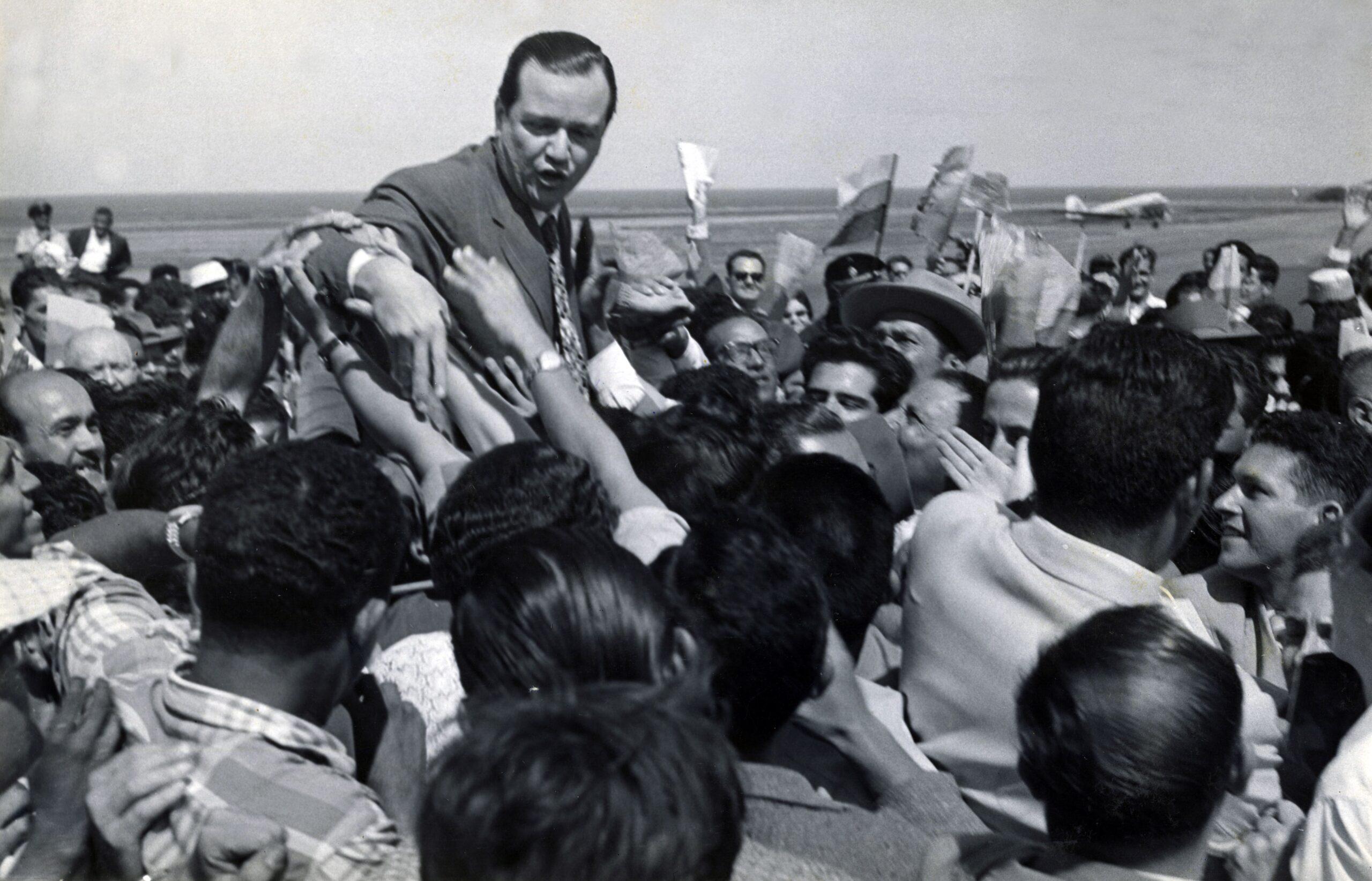 Discurso al regresar al país derrocada la dictadura de Pérez Jiménez (1958)