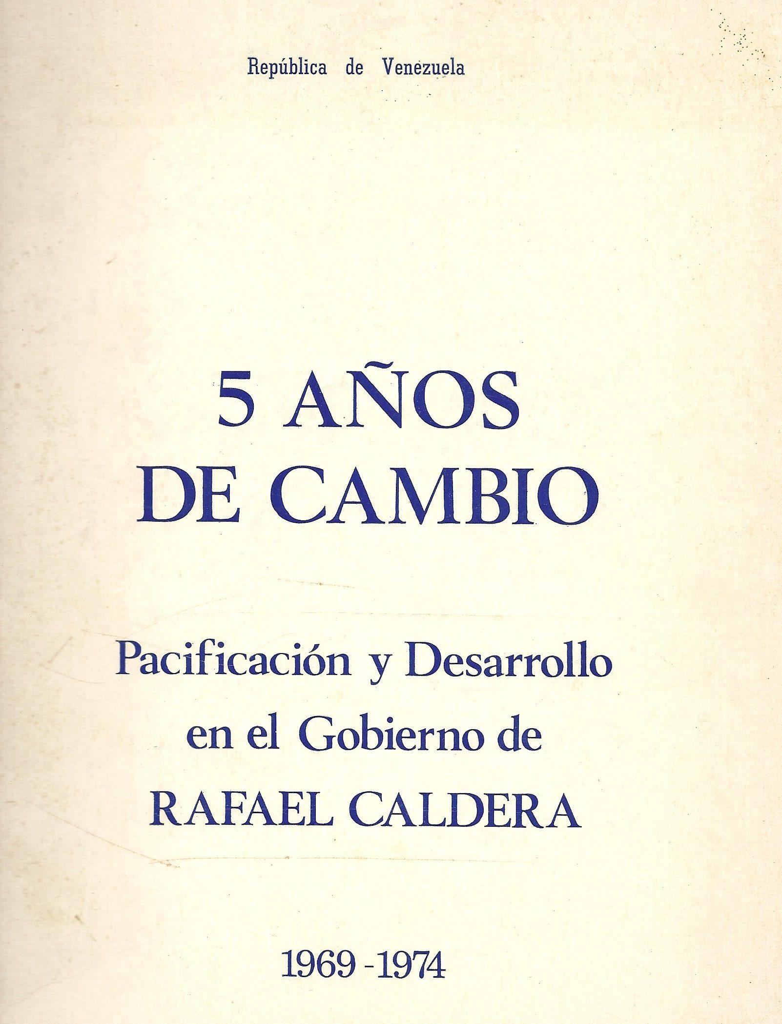 5 años de cambio (1974)