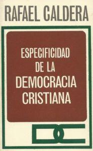 Edición del Partido Social Cristiano COPEI - 1a. edición, 1972.