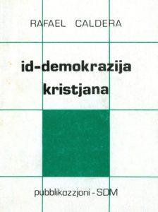 Edición Maltesa: id-demokrazija kristjana (pubblikazzjoni (SDM. 1985).