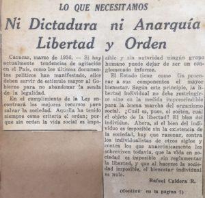 1936. Abril, 2. Libertad y Orden