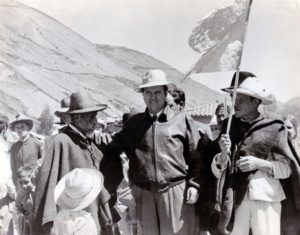 1958. En Mucuchíes, páramo merideño.