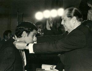 1971. Julio, 27. Acto de graduación de bachilleres en el Colegio San Ignacio, Caracas. (1)