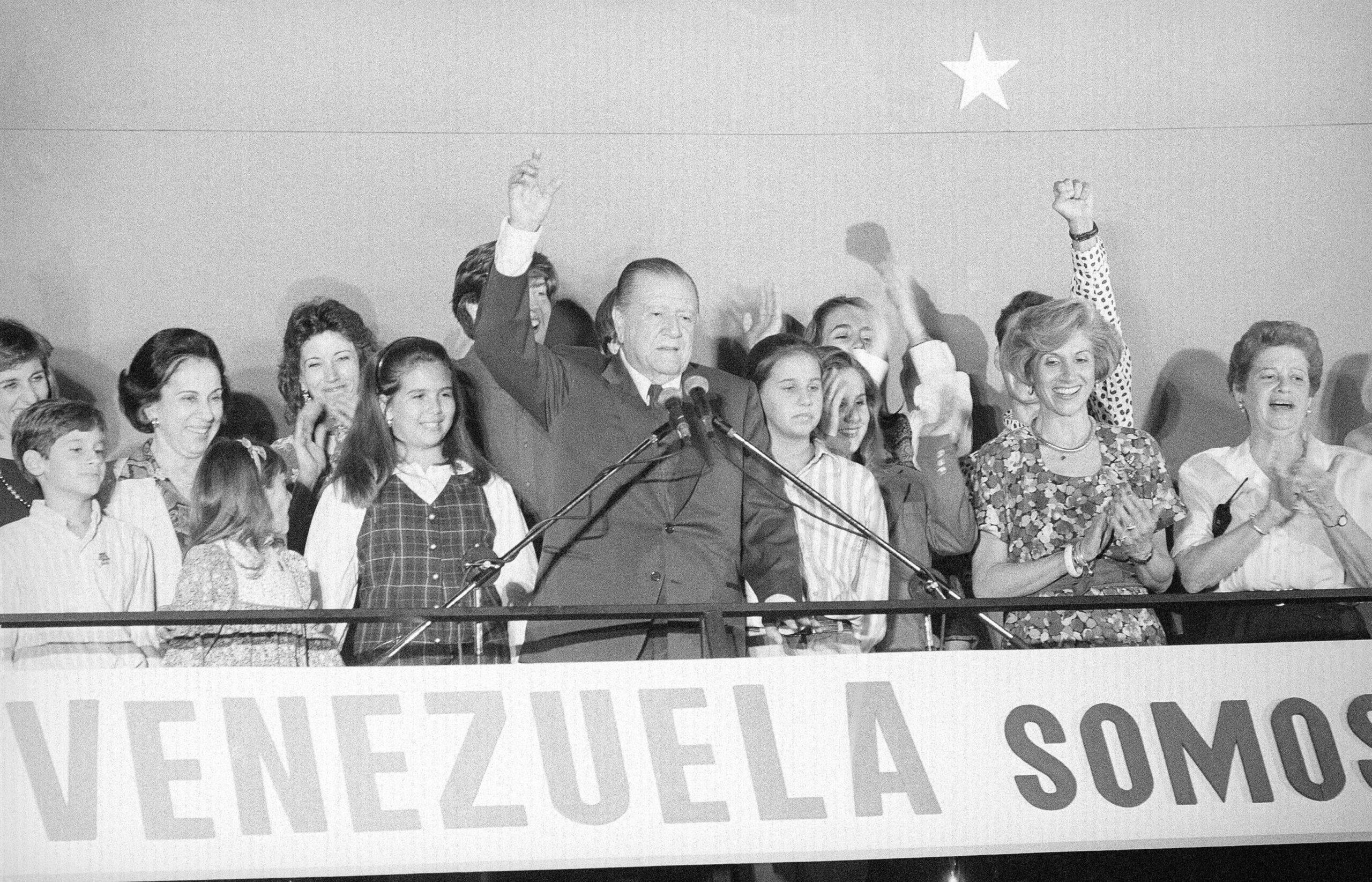 Rafael Caldera – Discurso de victoria en las elecciones presidenciales (1993)