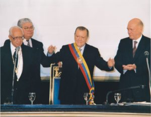 1994. Febrero, 2. Toma de posesión en el Congreso Nacional.