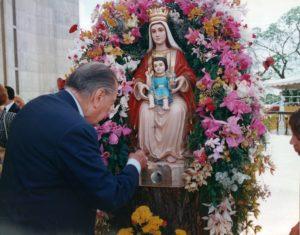1996. Febrero, 12. En la Basílica de Nuestra Señora de Coromoto en Guanare.