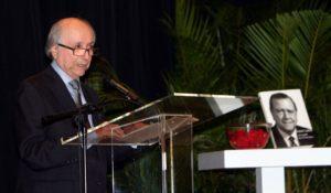El orador de orden fue Alfredo Morles Hernández, quien tituló su intervención «Rafael Caldera, jurista integral».