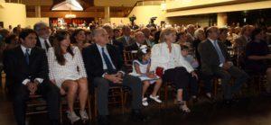 Asistentes en La Esmeralda al acto en homenaje al centenario de Rafael Caldera