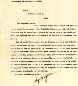 Augusto Mijares. 1935. Noviembre, 6