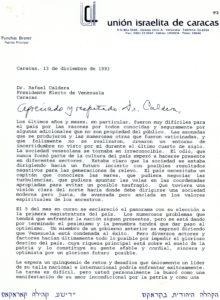 Brener, Pynchas. 1993. Diciembre, 13.