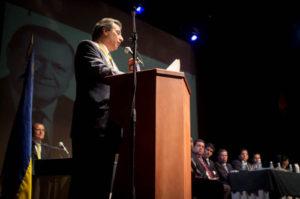 El orador de orden, Andrés Caldera Pietri.