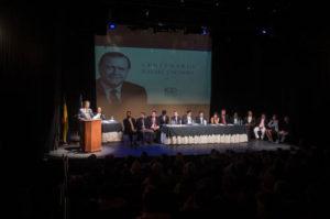 Sesión solemne del Concejo Municipal de Baruta como cierre del año centenario Rafael Caldera.
