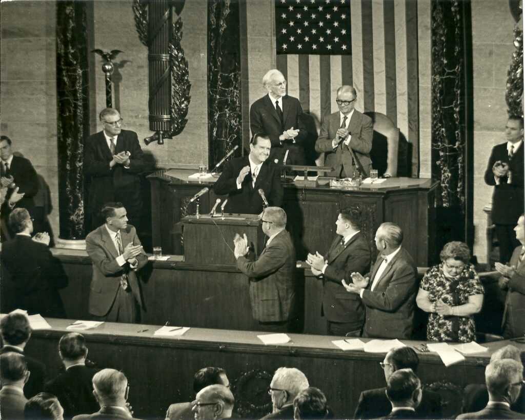 Rafael Caldera ante el Congreso de los Estados Unidos (1970)