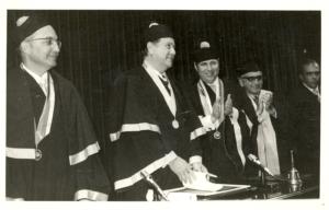 Doctorado Honoris Causa Rafael Caldera, 1974