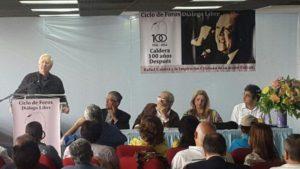 Ciclo de foros Diálogo Libre: Abdón Vivas Terán, Luis Albarrán y Naudy Suárez Figueroa.