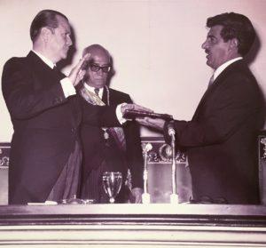 1969. Marzo 11. Toma de posesión en el Congreso Nacional.