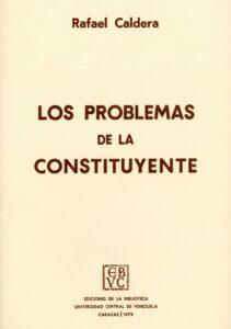 Los problemas de la Constituyente, 1979