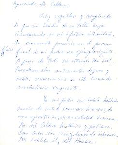Pérez Guevara hijo Martín - 1985. Febrero 15