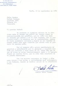 Uslar Pietri, Arturo. 1975. Septiembre, 18.