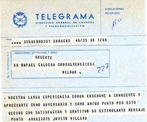 Villalba, Jóvito. 1978. Marzo.