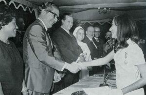 1970. Julio, 21. Graduación de bachilleres en el Colegio Mater Salvatoris