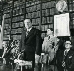 1973. Febrero, 9. Discurso en el Colegio de Abogados de Buenos Aires, Argentina