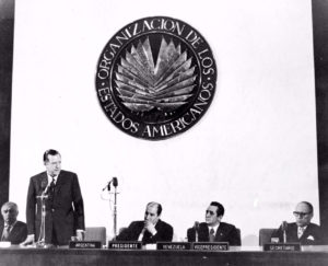 Rafael Caldera - en la OEA