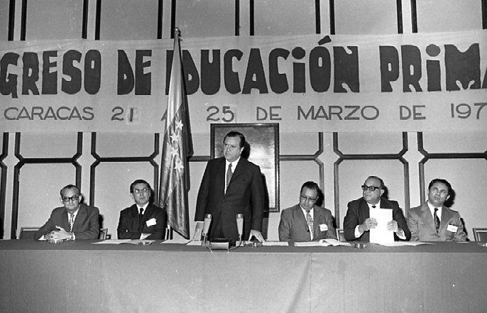 Palabras en el acto de apertura del Congreso de Educación Primaria (1971)