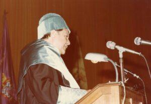 1976. 11 de Diciembre. Doctorado Honoris Causa Universidad de La Laguna, Tenerife (1)