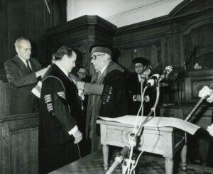 1979. Febrero, 2. Doctorado Honoris Causa de la Universidad de Lovaina (1)