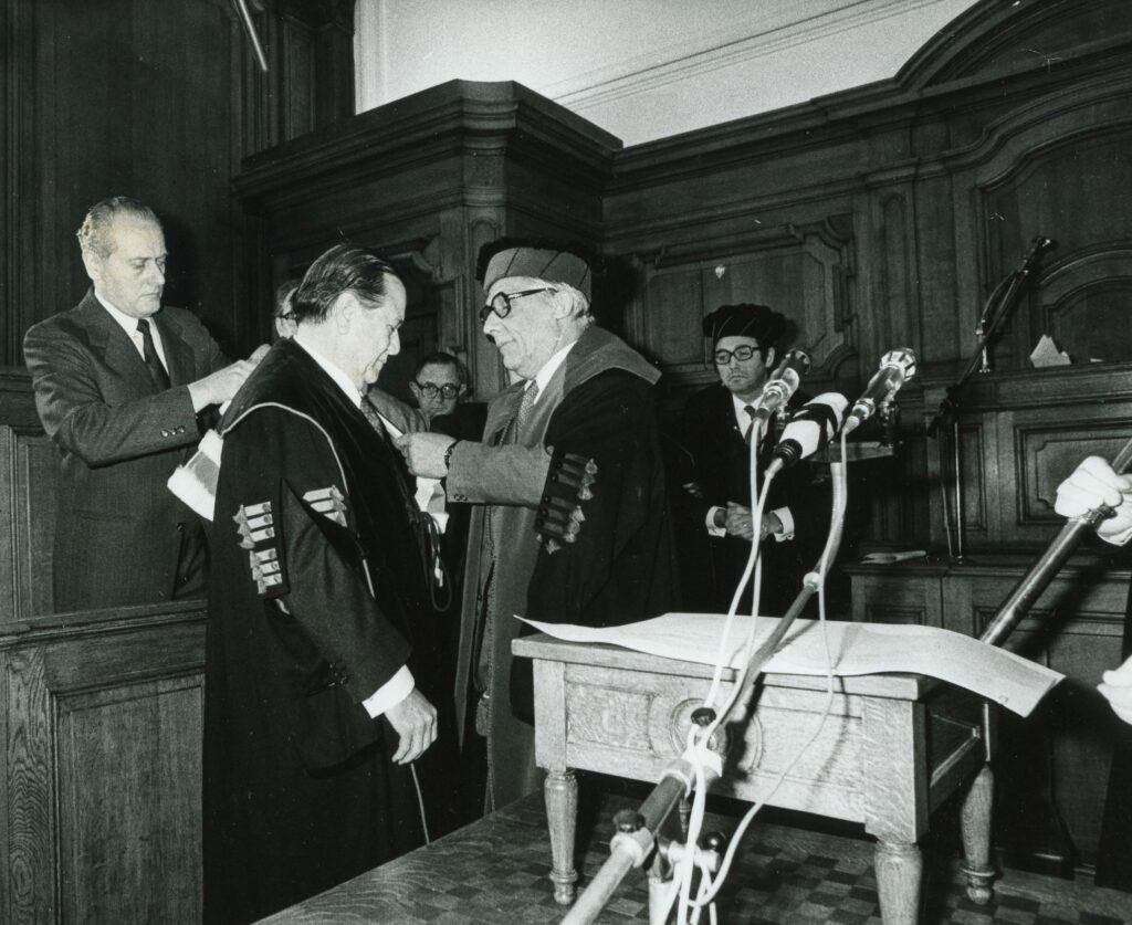 Palabras al recibir el Doctorado Honoris Causa de la Universidad de Lovaina (1979)