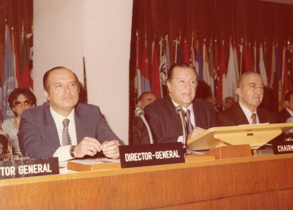 Rafael Caldera presidente de la Conferencia mundial sobre Reforma Agraria y Desarrollo Rural