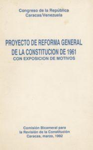 Proyecto Reforma Constitución de 1961