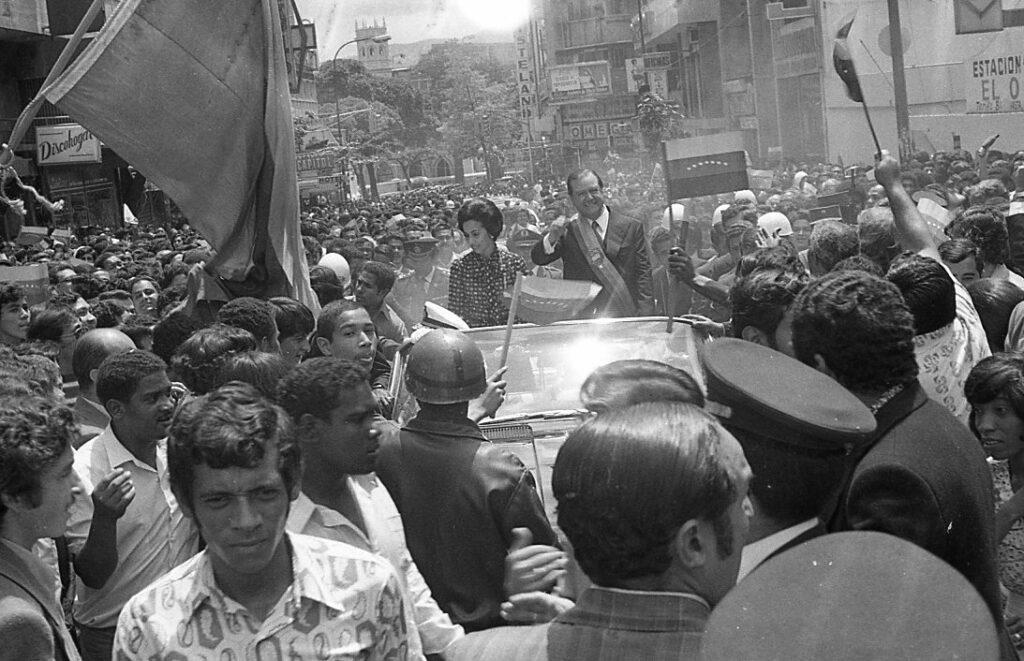 Quinto mensaje del Presidente Rafael Caldera ante el Congreso Nacional (1974. Primer Gobierno)