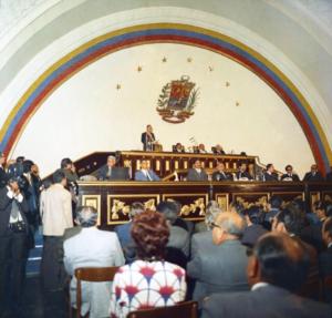 Rafael Caldera. 1973. Marzo 9. Cuarto mensaje al Congreso 01