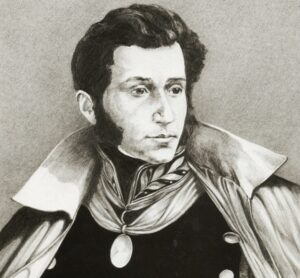Retrato Antonio José de Sucre