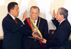 1999. Febrero 2. Toma de posesión Hugo Chávez