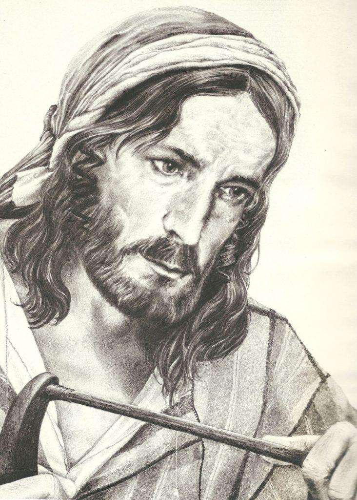 Cristo en Moldes para la Fragua. Rafael Caldera, 1980.