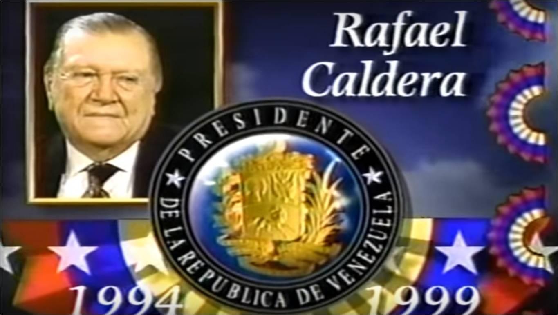 Perfil de Rafael Caldera – Democracia 93 (1993)