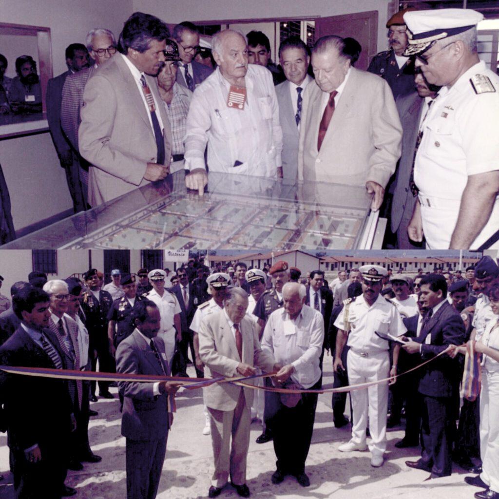 Rafael Caldera y Pompeyo Márquez Ciudad Sucre 1997
