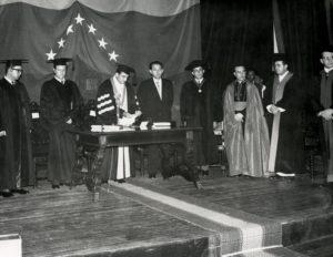 Octubre 20 1958 Maracaibo RC profesor honorario Universidad del Zulia 003