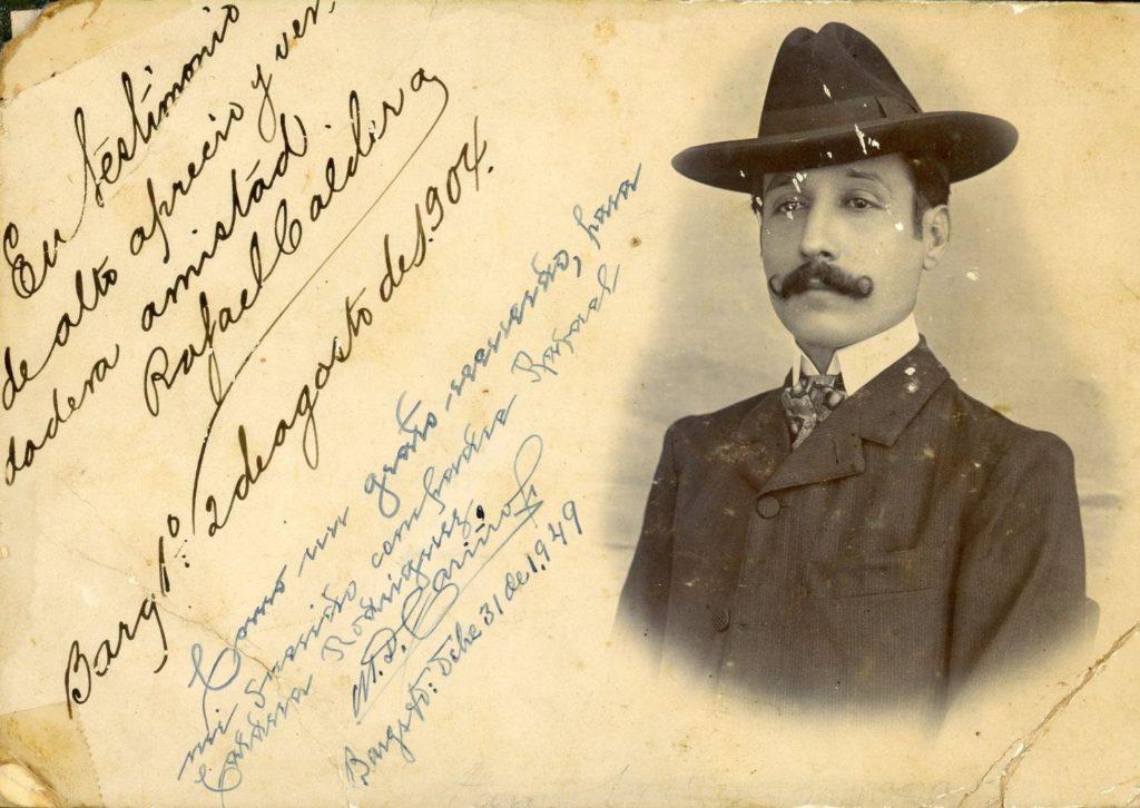 1908. Agosto, 2. Rafael Caldera Izaguirre.