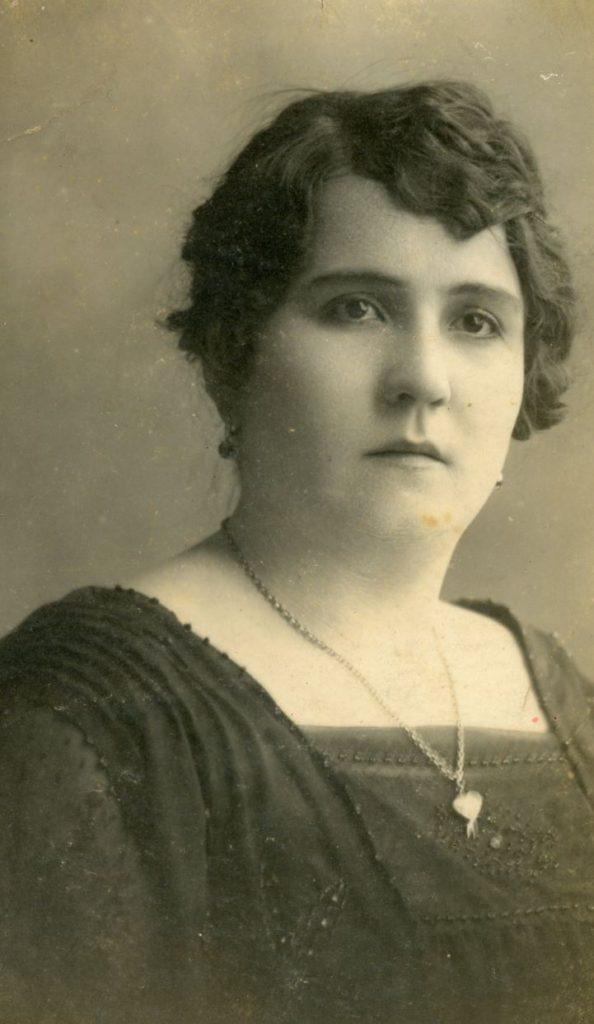 1923. Enero, 8. María Eva Rodríguez de Liscano.